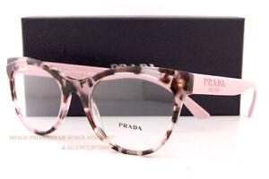 Brand New Prada Eyeglass Frames PR 05WV ROJ Pink Havana For Women Size 53
