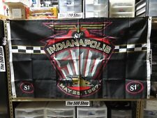 1997 Indianapolis 500 Event Collector Flag Banners IRLIndyCar Arie Luyendyk