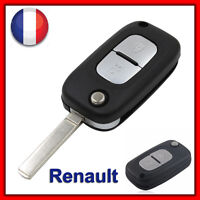 Coque Clé Plip Télécommande Pour Renault Clio 3/ Megane/ Kangoo/Modus /Twingo 2