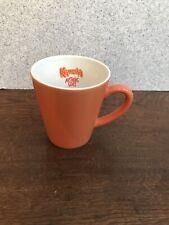 VINTAGE 1999 KAHLUA 12oz ORANGE ANYTHING GOES COFFEE MUG Promotional Large Cup