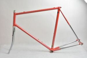 RALF JANTZEN steel road frame and fork  !! ORIA ML25 !! VGC !