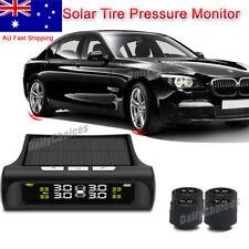 Solar Wireless TPMS Tyre Tire Pressure Monitor System+4 External Sensors