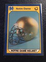 NOTRE DAME HELMET  1990 Notre Dame Collegiate Collection #11