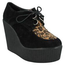 Platforms & Wedges Leopard Heels for Women