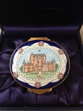 "Crummles English Enamels Trinket Box ""100th Year of HM Queen Mother"""