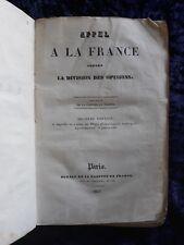 Appel à la France contre la division des opinions gazette de France 1831