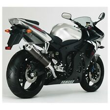 "YAMAHA YZF r6 [2003-2005] Hurric Ricambio Silenziatore SUPERSPORT ""CE/BE con carbonio"