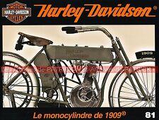 HARLEY DAVIDSON Monocylindre 1909-1912 Shinya KIMURA Zero Engineering Advanting
