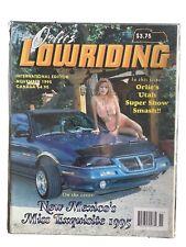 Orlie's Lowriding Magazine November 1995