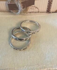 JAMES AVERY Sterling Silver Stackable Rings
