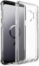 for Samsung Galaxy S9 Case BUDDIBOX Scratch Resistant Clear Bumper Cover