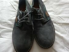 Barbour grey suede shoes size 9.5