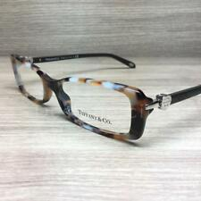 Tiffany & Co. TF 2035 Eyeglasses Brown Grey Marble 8212 Authentic 52mm