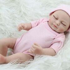 11'' Girl Handmade Lifelike Baby Newborn Vinyl Silicone Realistic Reborn Doll