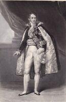 Portrait XIXe Jules de Polignac Restauration Révolution de Juillet 1830