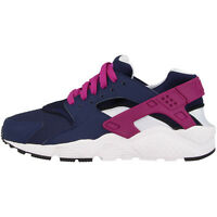 Nike Huarache Run GS Schuhe Sneaker navy violet white 654280-404 Free Jordan