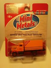 MINI METALS 1:87 WHITE SUPER POWER TRUCK/ DELIVERY VAN. NABISCO