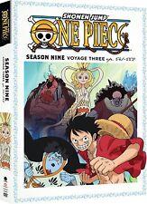 ONE PIECE - SEASON NINE VOYAGE 3  - DVD - Region 1 - sealed