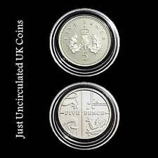 Proof Five Pence Coins 5p 1971 - 2020 Various Years - Royal Mint