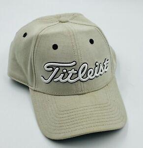 Titleist Tan True Fit Hat Cap Size M/L