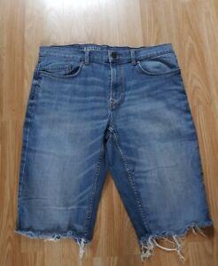 Used Mens denim shorts size 36 S