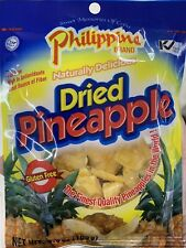 5 Bag x 3.5oz] Philippine Dried Pineapple Naturally Delicious Glutten Free Snack