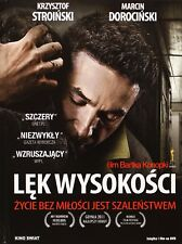 Lek wysokosci (DVD) Bartosz Konopka (Shipping Wordwide) Polish film