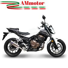 Terminale Di Scarico Termignoni Honda Cb 500 2018 18 Force Acciaio Titanio Moto
