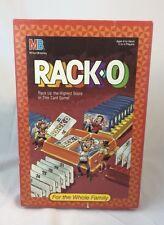 Rack O 1988 Milton Bradley Family Card Game Complete Game Hasbro