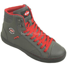 Lee Cooper Steel Toe Cap Grey Baseball Style Safety Boots. Trainers Shoes. 22g UK 8 EU 42
