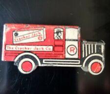 Vintage 1930's Cracker Jack Tin Litho Angelus Marshmellow Truck Toy Prize