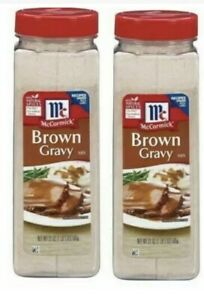 McCormick Brown Gravy Mix (21 oz.) 2 PACK Free Shipping