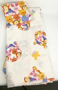 Vintage Disney Winnie The Pooh Bed Sheets Full Size Set