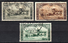 Belgium - 1935 Belgian stamp meeting / Coach - Mi. 402-04 VFU