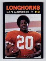 Earl Campbell, '77 Texas Longhorns Monarch Corona Glory Days #31