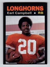 Earl Campbell, '77 Texas Longhorns Monarch Corona Glory Days #31