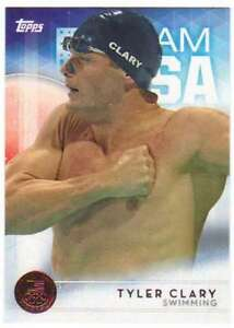2016 Topps US Olympic Team USA Bronze #30 Tyler Clary  Swimming