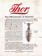 1908 THOR MOTORCYCLE SALES BROCHURE IN .PDF FORMAT ON CD ANTIQUE REPRODUCTION