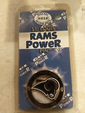 St. Louis Rams Badge. No holes its magentic. See pics for other available teams