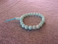 Elasticated Pale Amazonite Power Bracelet