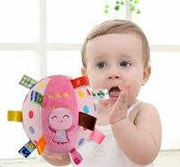 Baby Kid Infant Early Educational Soft Plush Ball for Ages 6 Months and Up