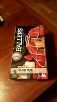 NEW SANDY LEON MLB BOSTON RED SOX  Sports Crate Exclusive  BALLERS figure