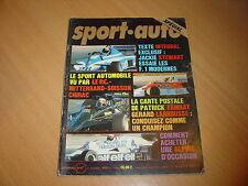 Sport Auto N°194 Lancia Gamma Coupé.24 h de Daytona