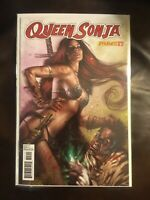 Queen Sonja issue #27 VF/NM Or Better 1st Print Dynamite Lucio Parillo Cover