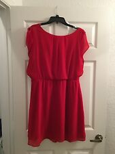 The Limited Red Dress XL Career And Or Dressy Great Condition Blouson Style