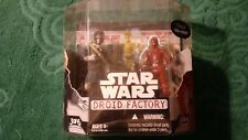 2008 Hasbro Star Wars Droid Factory Wal-Mart Exclusive Han Solo & R-3P0 (New)