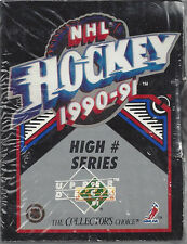 1990-91 Upper Deck NHL Hockey Premiere Edition Trading High Series Sealed Set