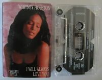 WHITNEY HOUSTON I WILL ALWAYS LOVE YOU AUSTRALIAN RELEASE CASSINGLE TAPE