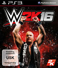 Sony PS3 Playstation 3 Spiel ***** WWE 2K16 * 2016 * 16 *****************NEU*NEW
