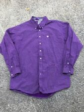 2 Cinch Men's Western Rodeo Shirt Long Sleeve Button Front Multi Color XL